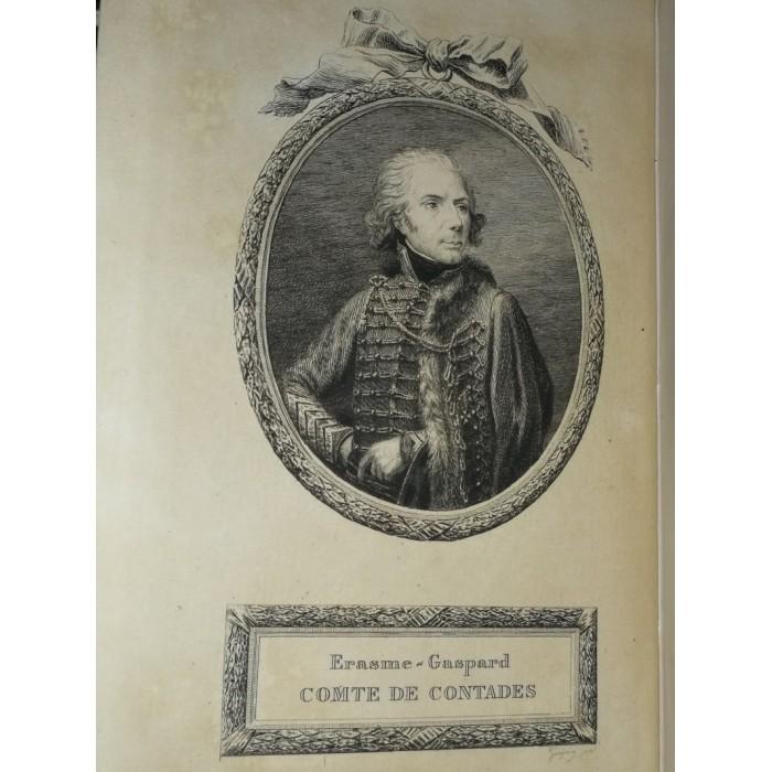 Souvenirs du Comte de Contades par le Comte Gérard de Contades Coblenz et Quiberon Edition originale