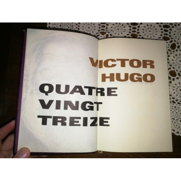 Quatre vingt treize Victor Hugo numéroté Roman sur la Révolution Française