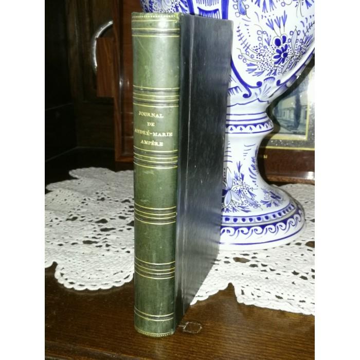 Journal et correspondance de André-Marie Ampère recueuillis par Mme H.C édition originale