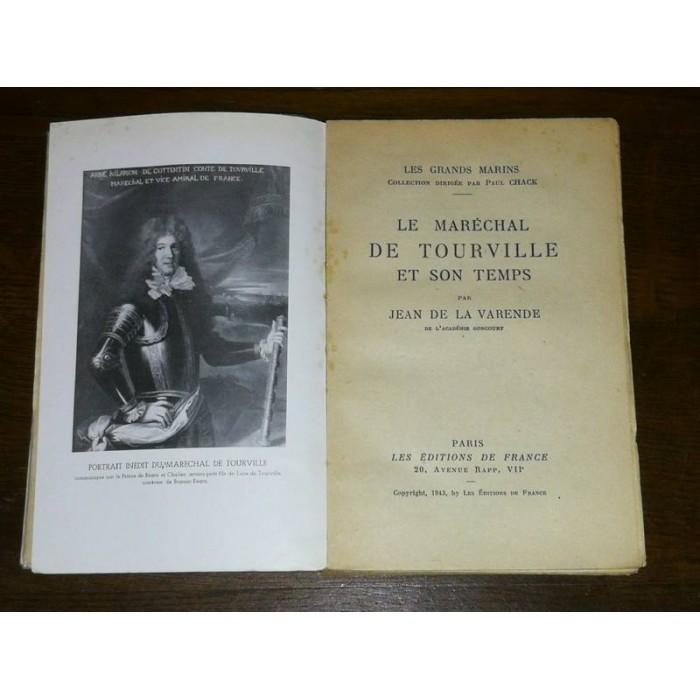 Le Maréchal de Tourville et son temps par La Varende