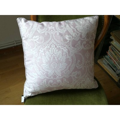 Coussin vintage rose 45 x 45