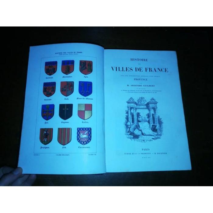 Histoire des villes de France par M. aristide Guilbert