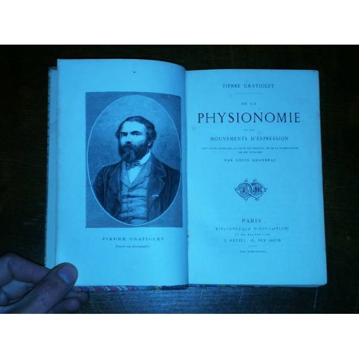 De la Physionomie et des Mouvements d'Expression par pierre Gratiolet