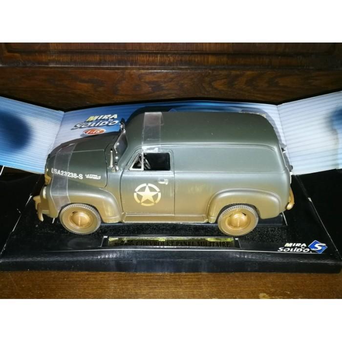 voiture miniature chevrolet panel militaire solido S