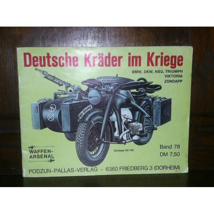 Deutsche Kräder im Kriege