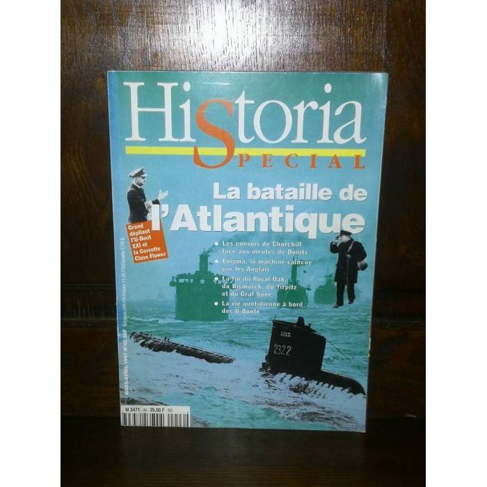 La bataille de l'Atlantique Historia