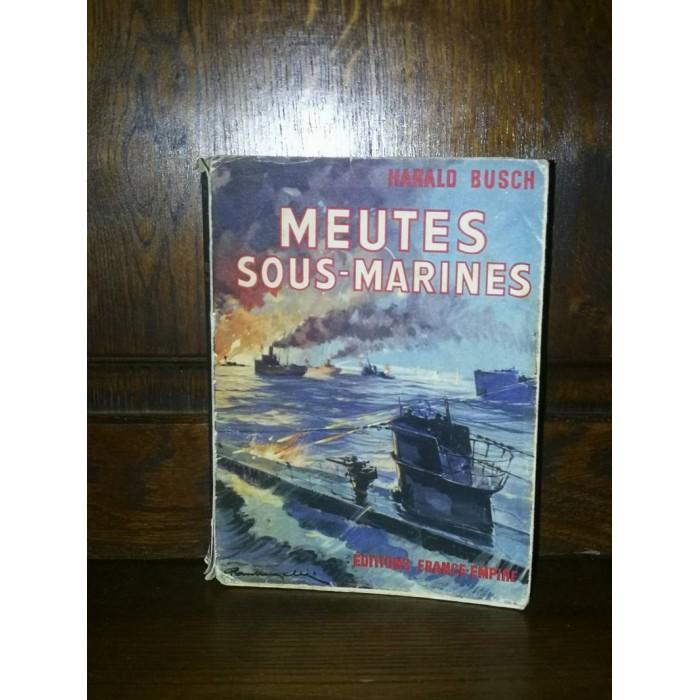 Meutes sous-marines par Harald Busch