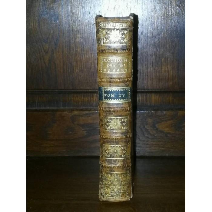 Nouveau dictionnaire historique-portatif 1770 par Chaudon (Louis-Mayeul)