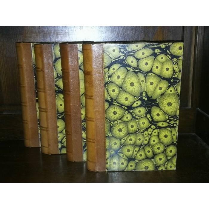 Anthologie des poètes Français du XIXème 1887 4 tomes
