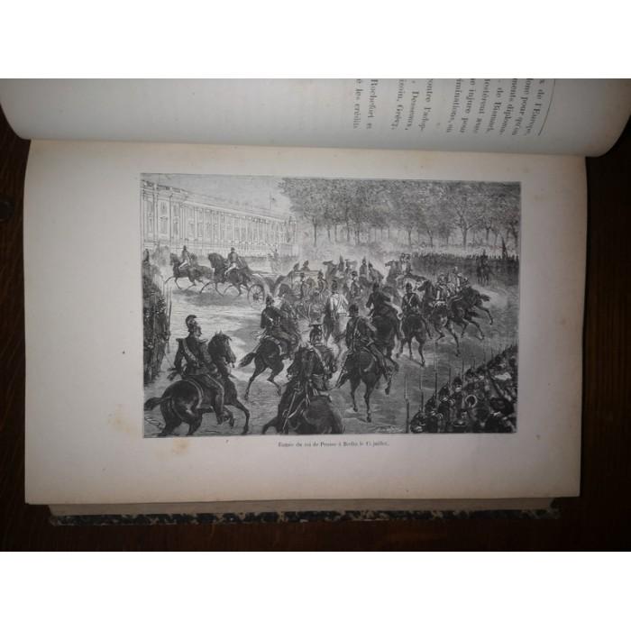 La Guerre de 1870-71 Histoire politique et militaire par A. Wachter