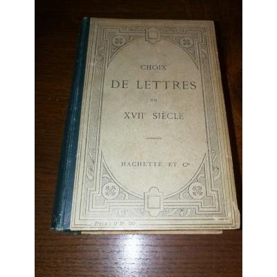 Choix de lettres du XVIIème siècle