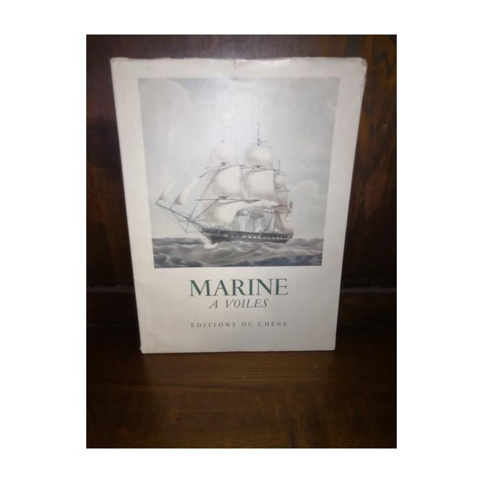 Marine à voiles par Olivier Warner