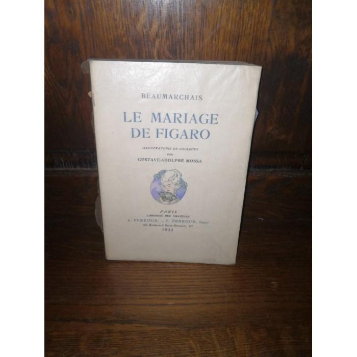 Le Mariage de Figaro par Beaumarchais numéroté