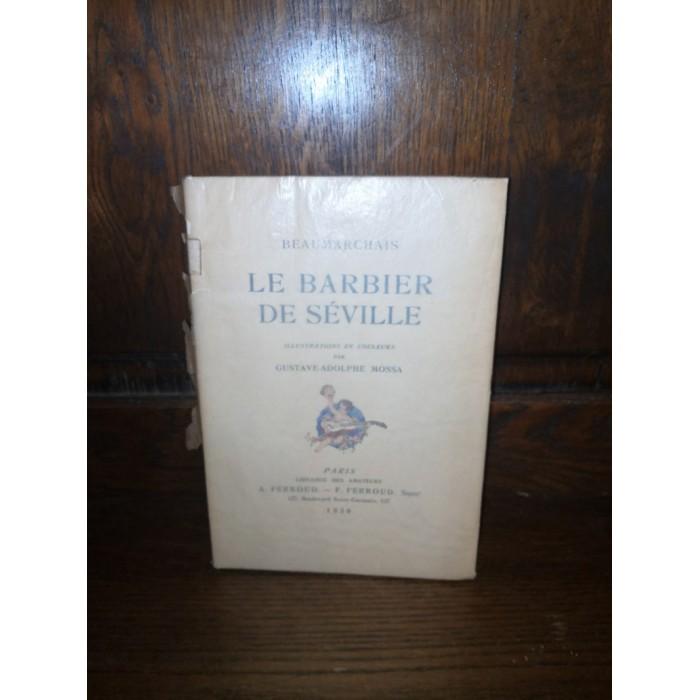 Le barbier de Séville par Beaumarchais édition numérotée